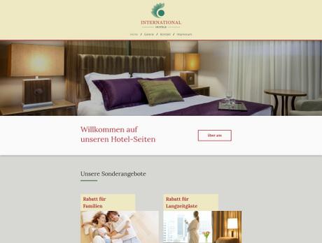 Hotel Branchenvorlagen