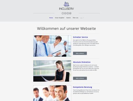 Website für Reinigung einfach erstellen | united-domains