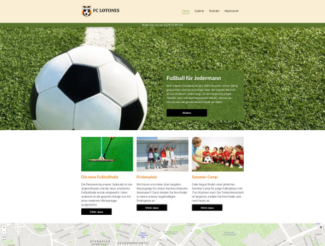 Fußballverein Branchenvorlagen