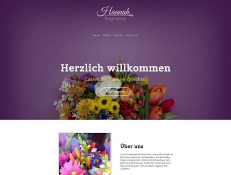 Florist Branchenvorlagen