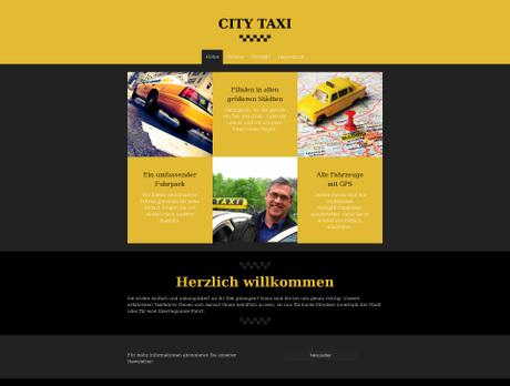 Taxiunternehmer Branchenvorlagen